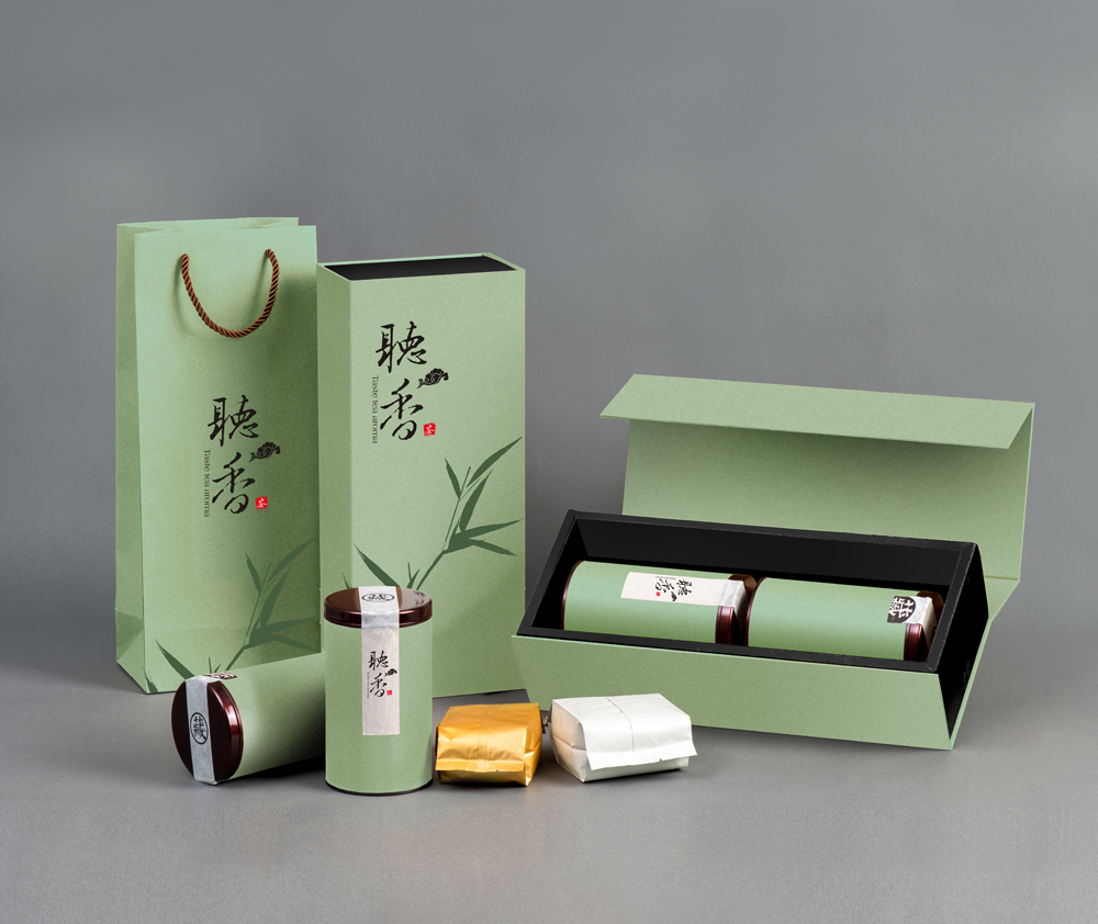 茶葉特種紙禮盒包裝